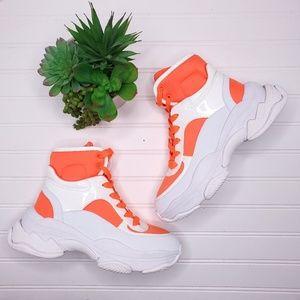 Jeffrey Campbell Pixels Chunky Sneakers Sz 9